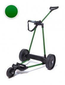 Electrische Golftrolley 3-wiels Carbon Groen