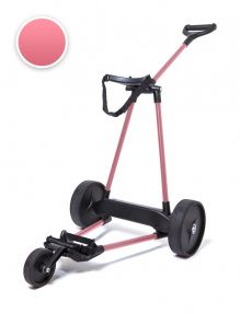 Electrische Golftrolley 3-wiels Carbon Pink