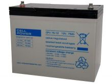 Cell Power CPX 75Ah-12v