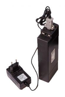 E-motion acculader lithium (voor zwarte accu)