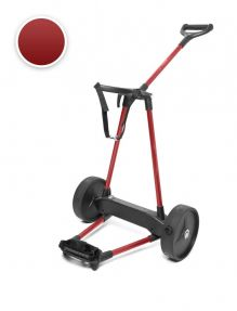 Electrische Golftrolley 2-wiels Carbon Rood