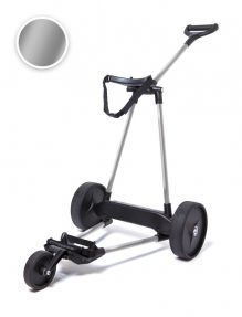 Electrische Golftrolley 3-wiels Zilver